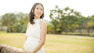 BTS: Candice's outdoor maternity portrait session