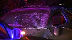 170 Off Ramp Crash with Driver Ejected / Los Angeles  RAW FOOTAGE