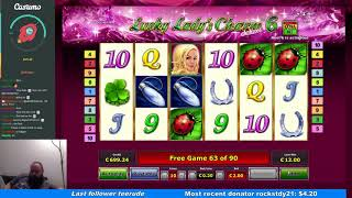 Lucky Lady Charm Deluxe 6 - Big Win