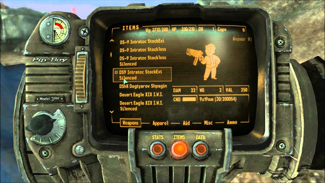 Garrys Mod - Fallout 3 Weapons - YouTube