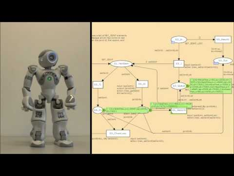 NaoControl - Nao controlled by a petri net (short version)