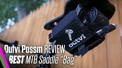 """Best Mountain Bike Saddle """"Bag""""   Outvi Possum Review   Tool roll up"""
