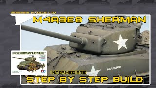 Tamiya : M4A3E8 Sherman : 1/35 Scale Model : Step By Step Video Build : Episode.1
