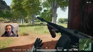 chocoTaco   PUBG Solo   Tommy Gun Only   October 11