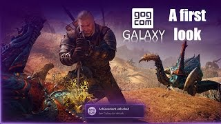 My first look into the GOG Galaxy client (beta)