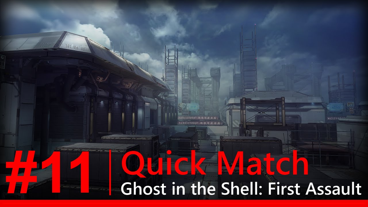 Ghost In The Shell First Assault Quick Match 11 New Map Port Youtube
