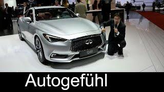 all new infiniti q60s v6 400 hp review premiere geneva q50 coup version