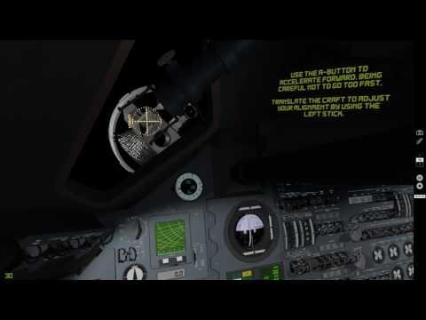 Apollo 11 VR - Docking Sequence A.K.A Columbia