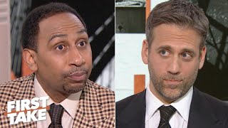 Stephen A. calls out Max for putting too much pressure on Patrick Mahomes | First Take