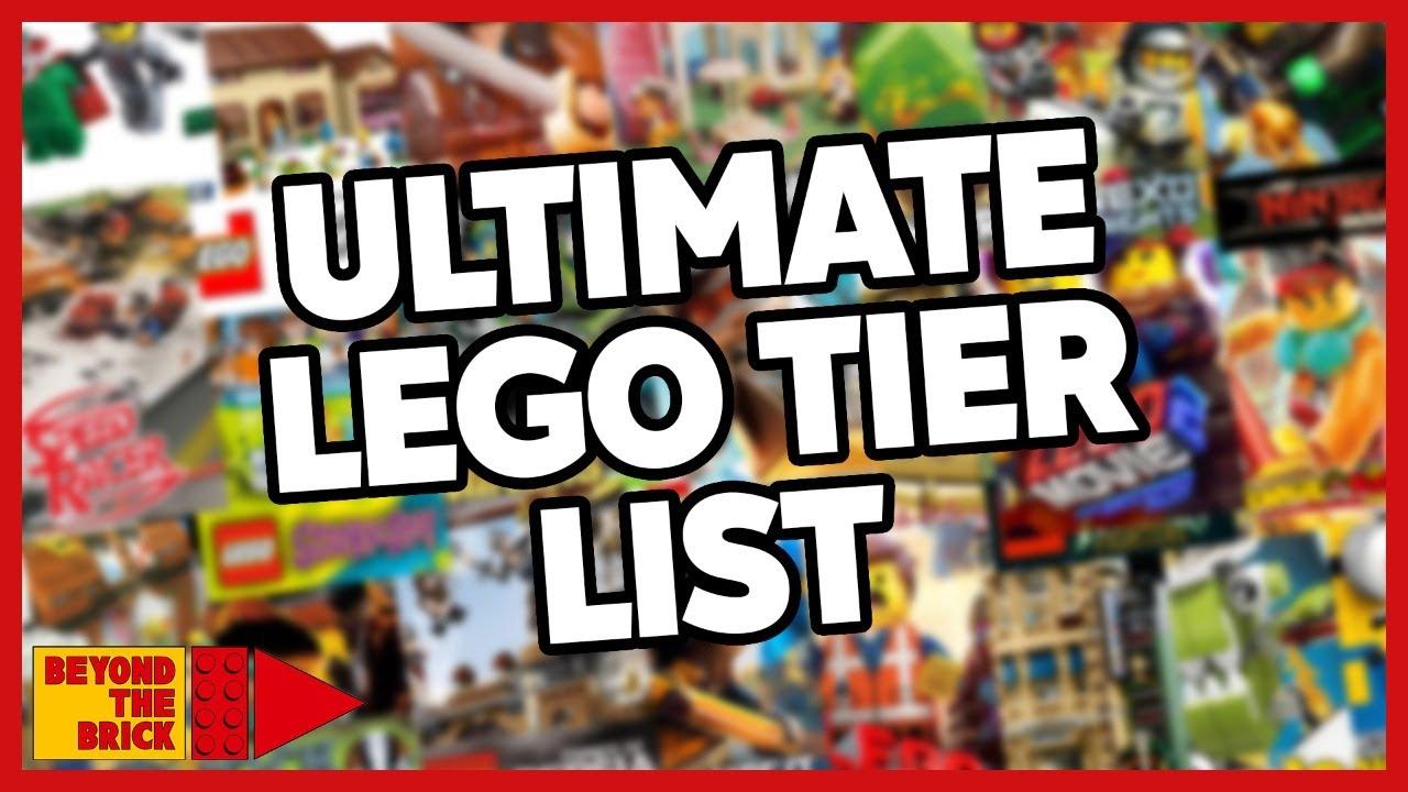 Ranking LEGO Themes Tier List | Quarantine Cast Ep 40