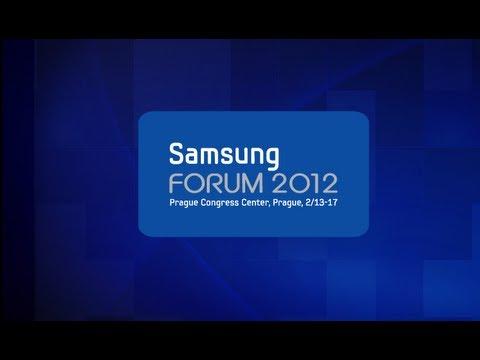 Samsung Forum 2012 Prague - Press Conference