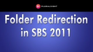 Folder Redirection in Small Business Server 2011