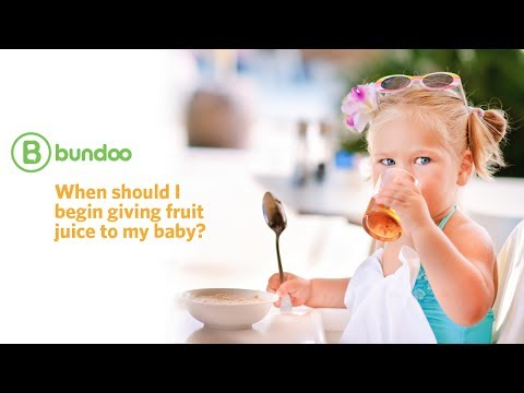 Juice Okay for Toddlers