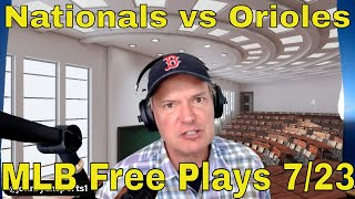 MLB Picks and Predictions | Nationals vs Orioles Betting Preview | The Predictive Playbook | July 23