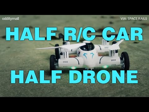 Flying Car Is Part R/C Car, Part Flying Quadcopter Drone