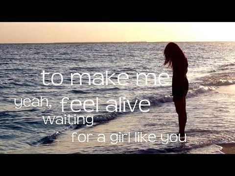 Foreigner - Waiting for a Girl Like You   LYRICS  