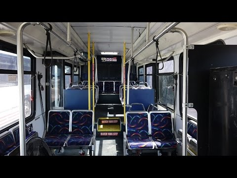 A FIRST DRIVE WITH MY NEW FLYER D35LF EX CAPITAL METRO BUS 7422 IN ALBUQUERQUE NM