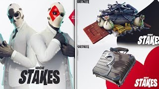 *NEW* Fortnite HIGH STAKES EVENT! - ALL LEAKED Skins, Items, & MORE! (Fortnite Battle Royale)