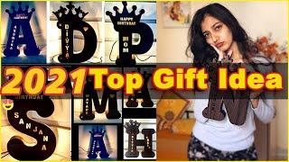 Best Gifts Idea Of 2019 A To Z Alphabet Wooden Name Board By Unbox Baba✋| Gift Series | Episode 5