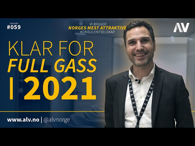 KLAR FOR FULL GASS I 2021 | ALV#059