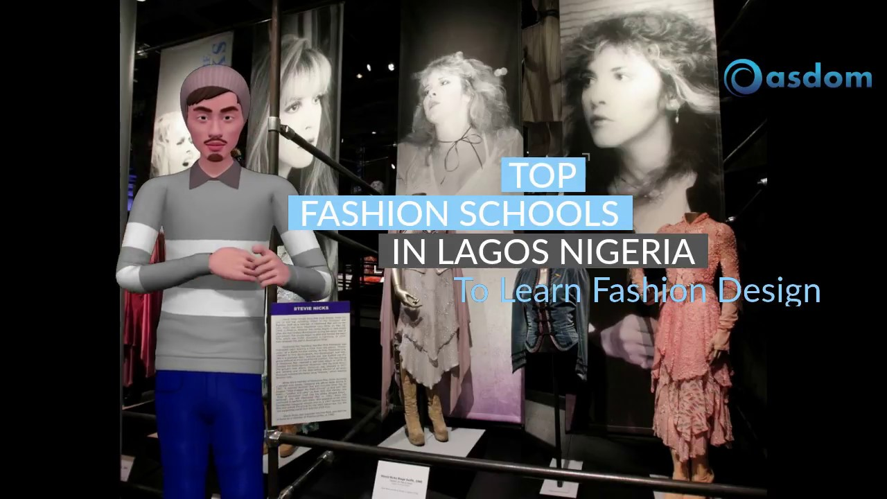 Top Fashion Schools In Lagos Nigeria To Learn Fashion Design Youtube