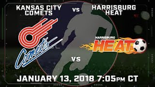 Kansas City Comets vs Harrisburg Heat