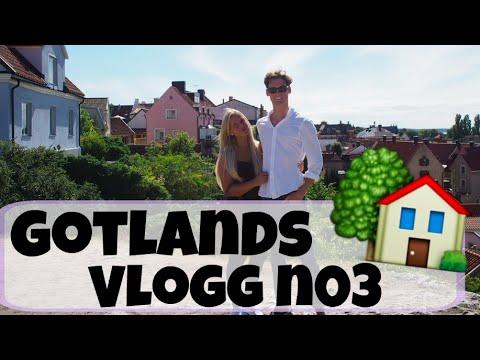 Gotland VLOGG #3 | En heldag i Visby med min pojkvän