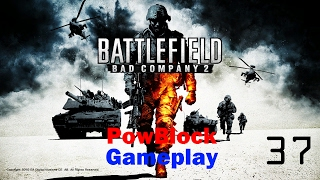 Battlefield Bad Company 2 (PS3) Online Multiplayer pt37 - Full Teams! Rush on Arica Harbor