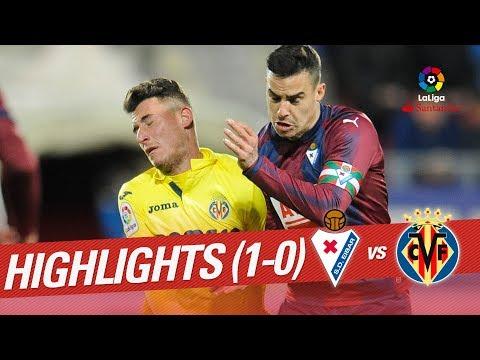 Resumen de SD Eibar vs Villarreal CF (1-0)