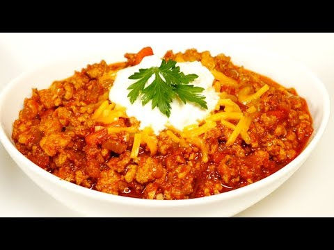 Turkey Chili That Actually Tastes Good