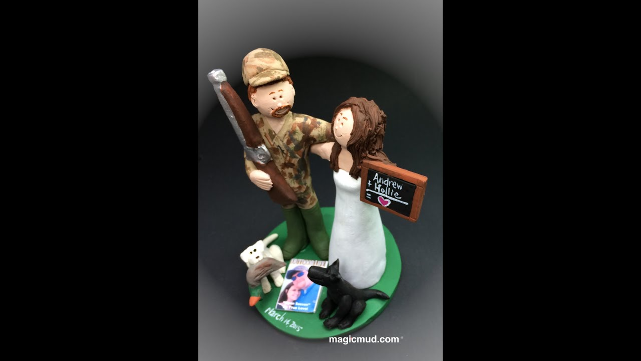Redneck s Wedding Cake Topper