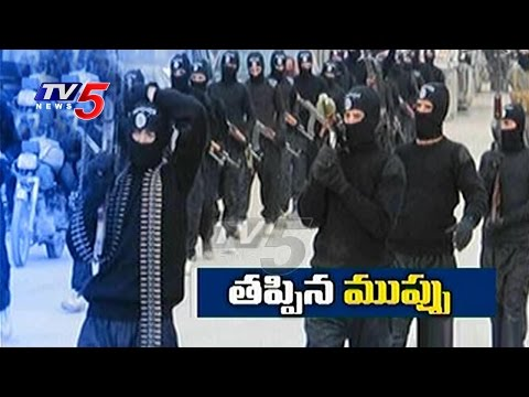 High Tension in Hyderabad   NIA Busting Suspected ISIS   TV5 News