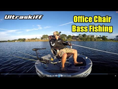 Office Chair Fishing In An Ultraskiff