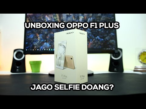 Unboxing OPPO F1 Plus Indonesia