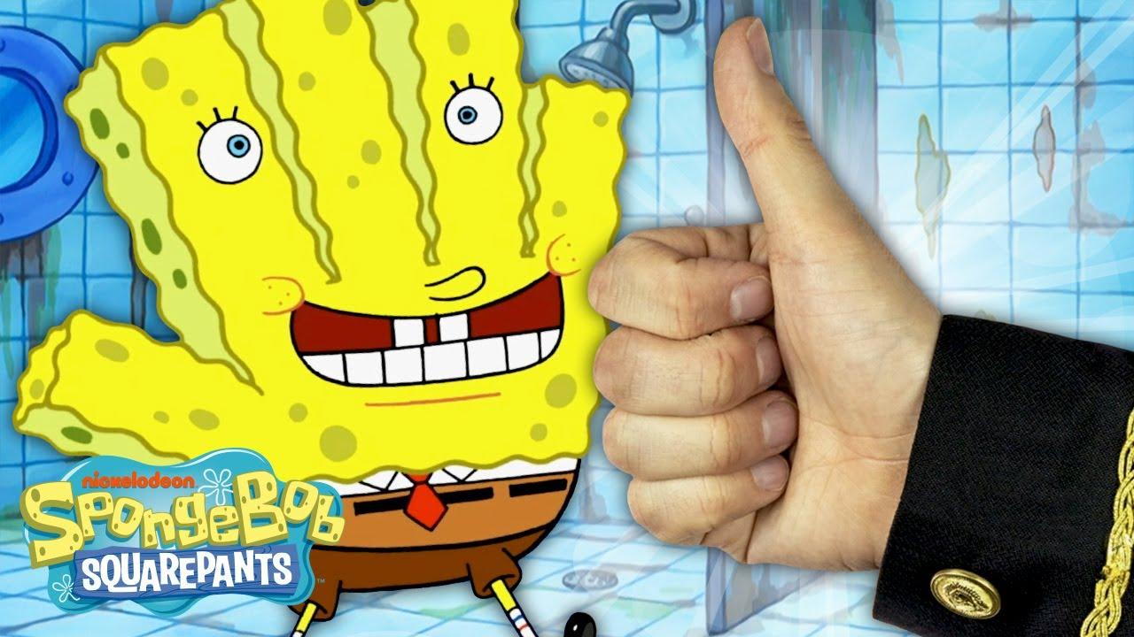 "Download ""The Sponge Treatment"" + Every Time 'Hans the Hand' Appears 🤚🏻 SpongeBob SquarePants"
