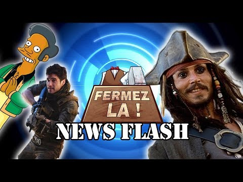 Apu censuré, mort de Jack Sparrow et Monster Hunter avec des Guns - FERMEZ LA News Flash thumbnail