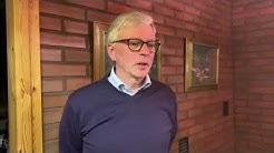 Ari Torniainen kommentoi vaalitulosta noin klo 21