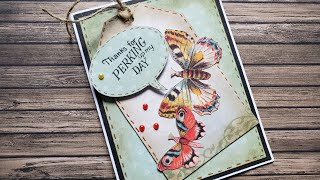 ♥️Bill Makes A Card | Tracey Makes a Tag