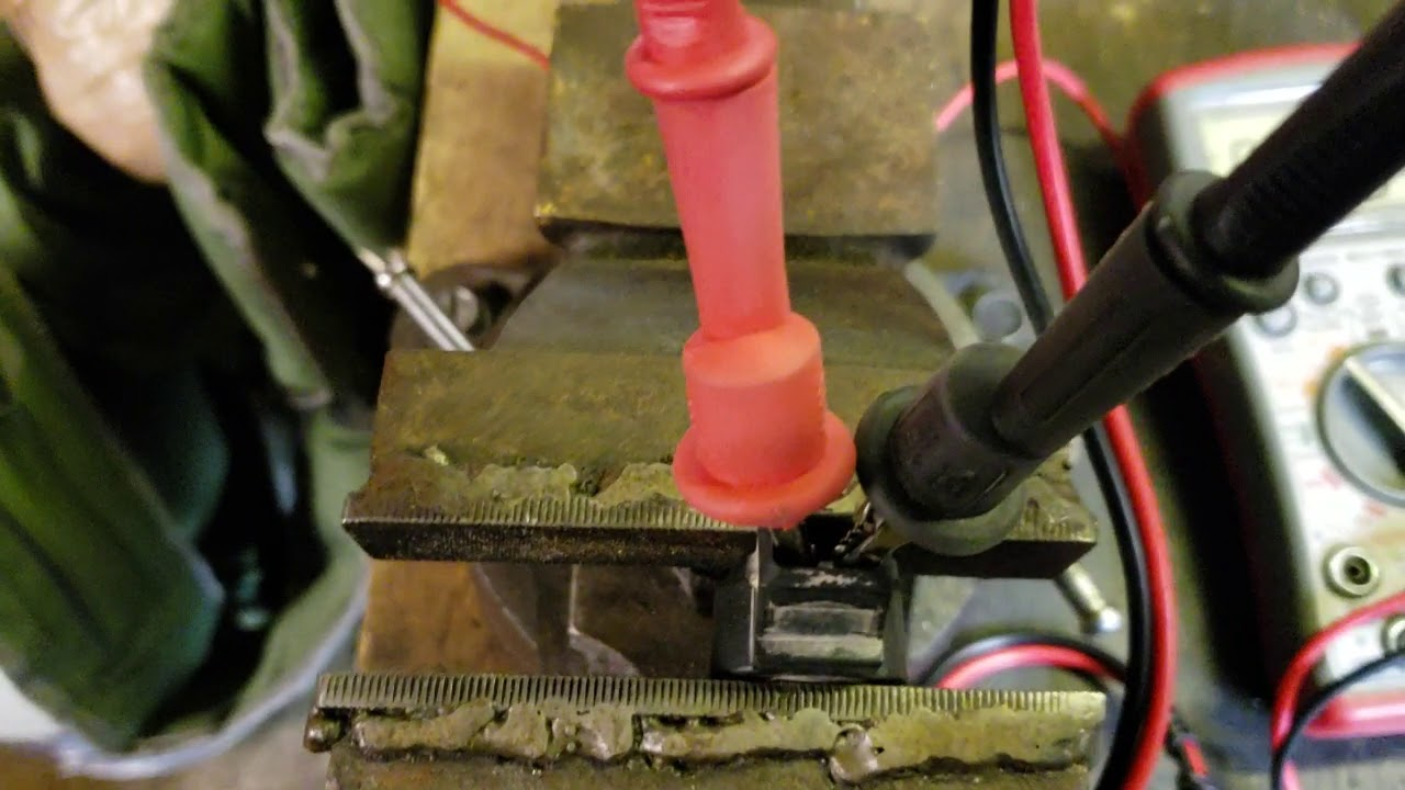 89 jeep(renix)knock sensor bench test