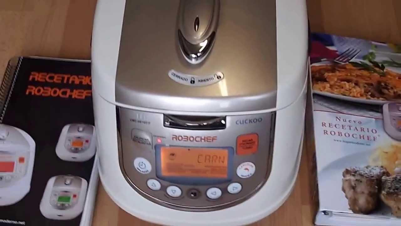 Comprar robot de cocina por inducci n robochef cuckoo cmc for Robot limpiafondos piscina segunda mano