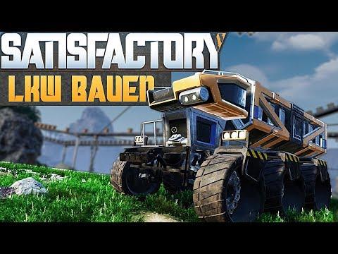 SATISFACTORY LKW BAUEN Satisfactory Deutsch German Gameplay #23