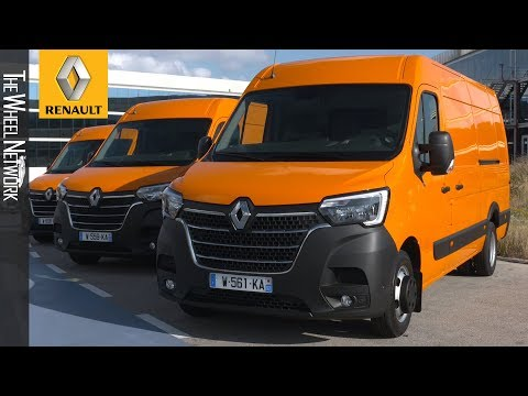 The New Renault Master And Renault Trafic – Media Drive Event Footage