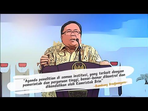 Menristek Bambang Brodjonegoro Usai Ratas Strategi Pengembangan Riset & Inovasi Serta Penataan BRIN