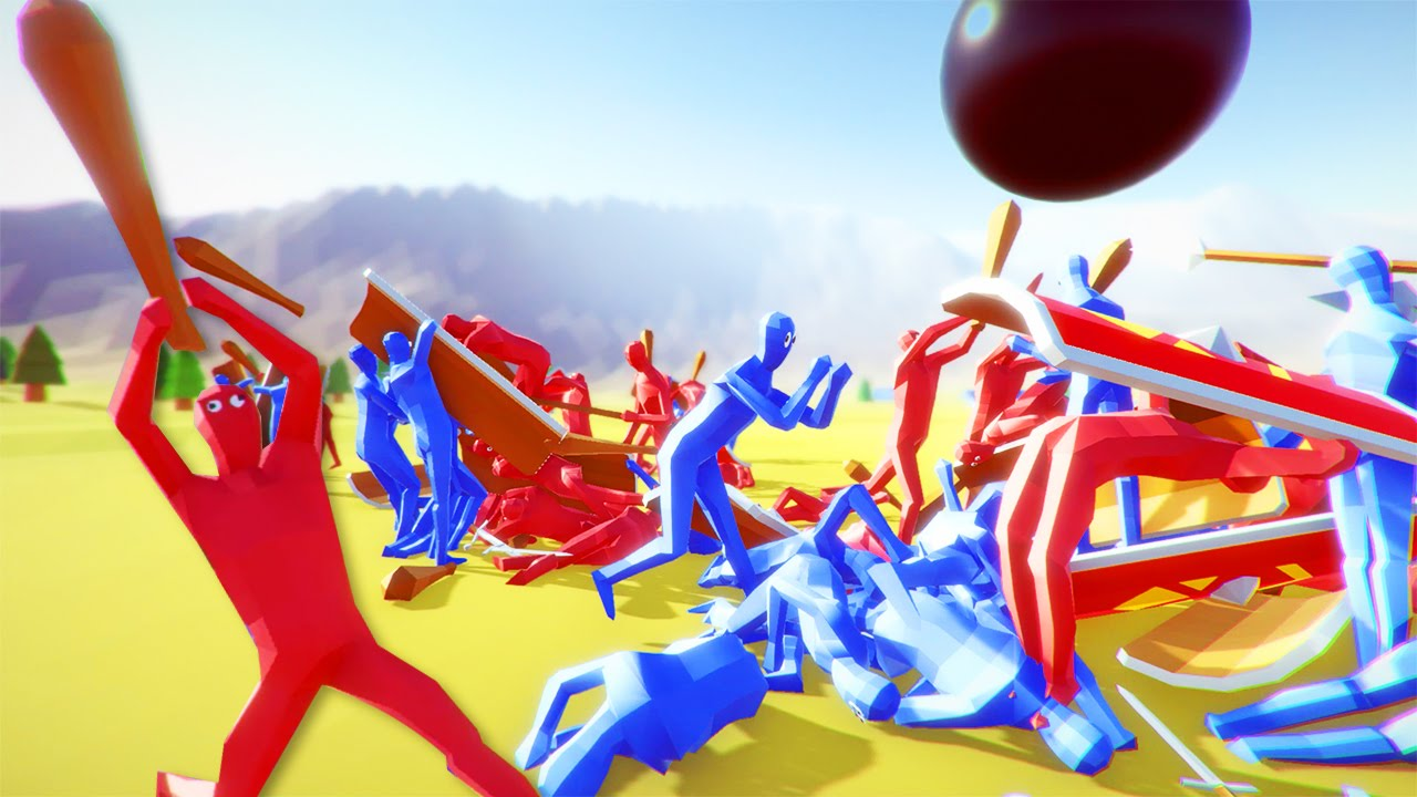totally accurate battle simulator how to play as a uinit