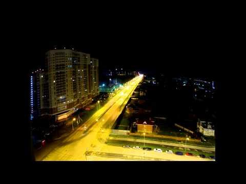 Музыка ночного города timelapse