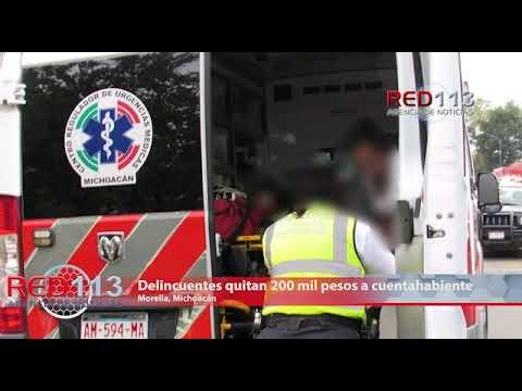 VIDEO Delincuentes quitan 200 mil pesos a cuentahabiente en Av. Acueducto