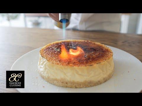 クレームブリュレチーズケーキの作り方 | Crème Brûlée Cheesecake Recipe