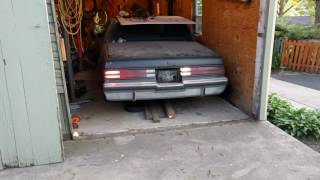 BARN FIND 85 Buick Regal t-type