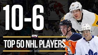 Top 50 NHL Players of 2019   10-6