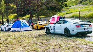 Shelby goes CAMPING with 2 Ferraris! *FIRST TIME EVER*